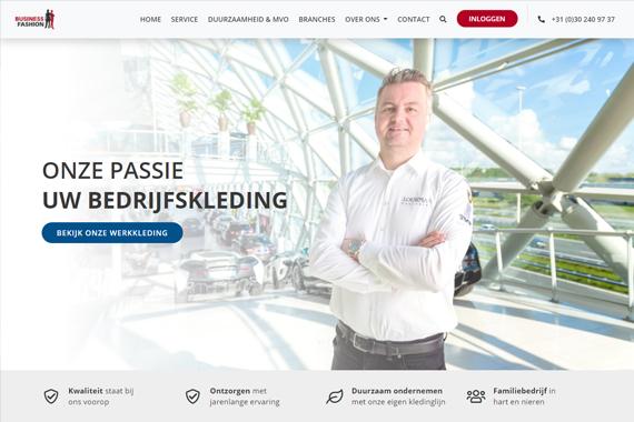 Webdesign Business Fashion
